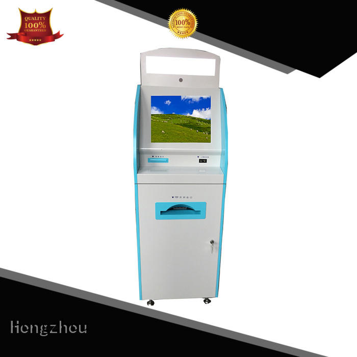 Hongzhou internet medical check in kiosk key in hospital