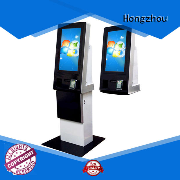 Hongzhou hd touch screen payment kiosk for sale