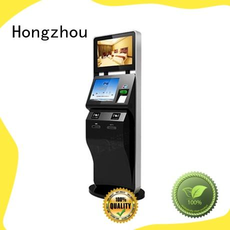 Hongzhou professional ticketing kiosk multi function for sale