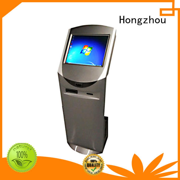 multimedia information kiosk machine with qr code scanning for sale