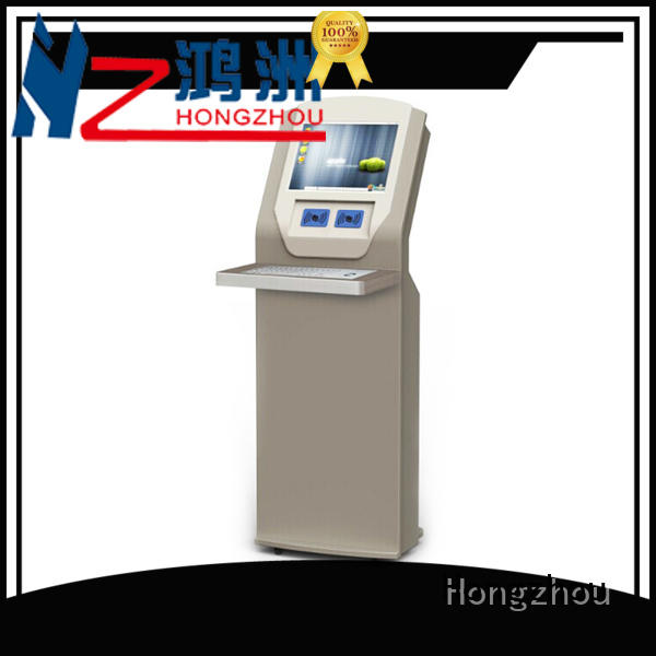 library information kiosk with id card reader in library Hongzhou