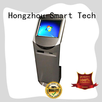 Hongzhou latest information kiosk machine with qr code scanning for sale