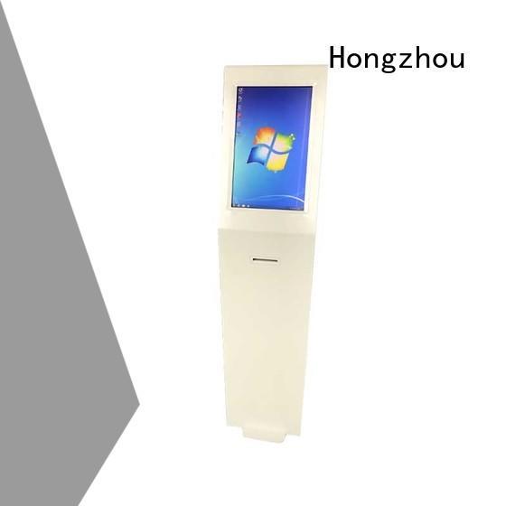 Hongzhou multimedia point of information kiosk code for sale