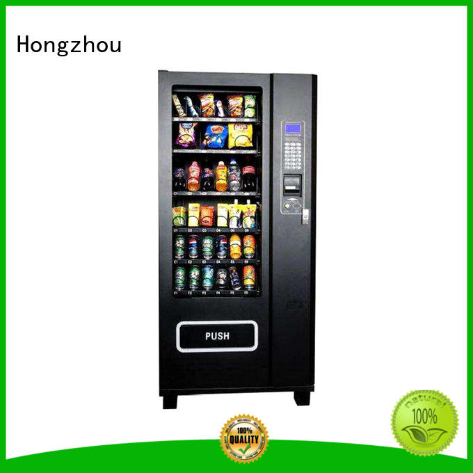 Hongzhou automated vending machine supplier for airport