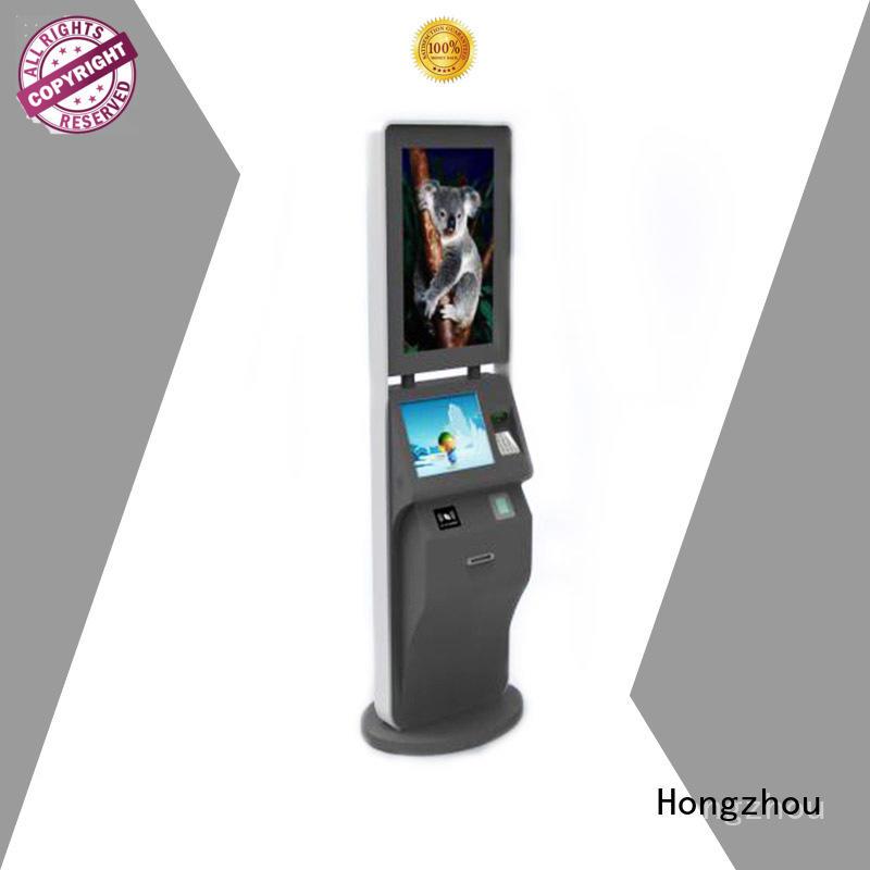 Hongzhou high quality self service ticketing kiosk with wifi in cinema