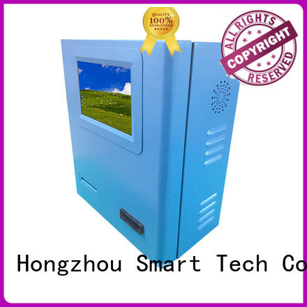 Hongzhou blue bill payment machine coated in bank