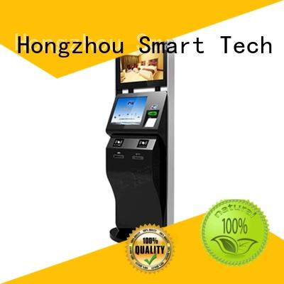 touch screen cinema ticket kiosk with printer in cinema