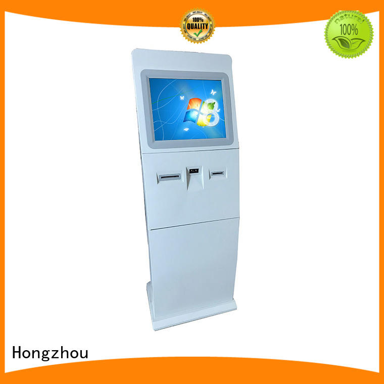 Hongzhou top touch screen information kiosk appearance for sale