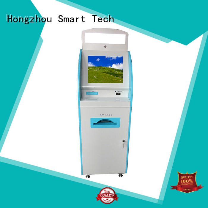 Hongzhou capacitive hospital kiosk supplier in hospital