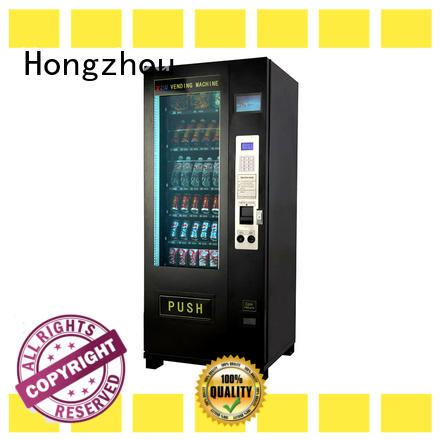 Hongzhou beverage vending machine free standing for shopping mall