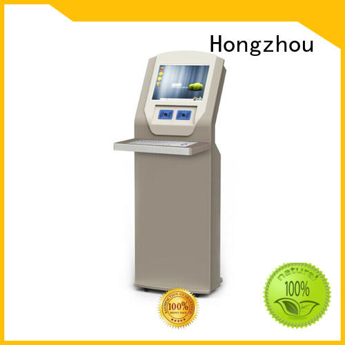 interactive library information kiosk manufacturer in book store