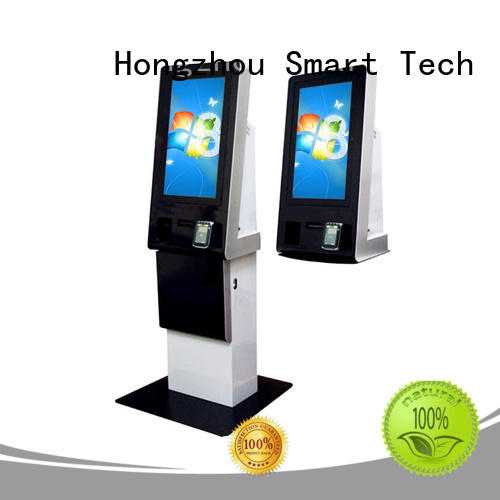 Hongzhou blue payment kiosk system accept in bank