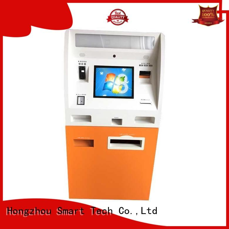 Hongzhou wall mounted cash payment kiosk in hotel