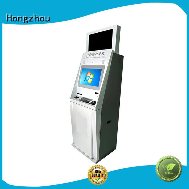 ticket kiosk machine led on bus station Hongzhou