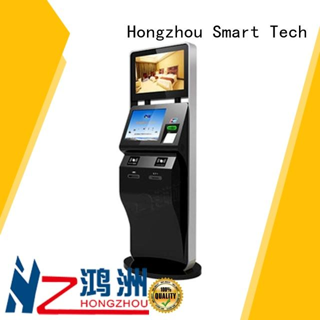 professional ticketing kiosk manufacturers with camera on bus station