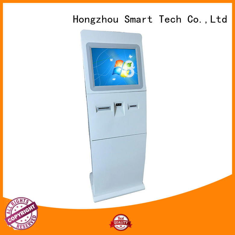 Hongzhou interactive information kiosk appearance in airport