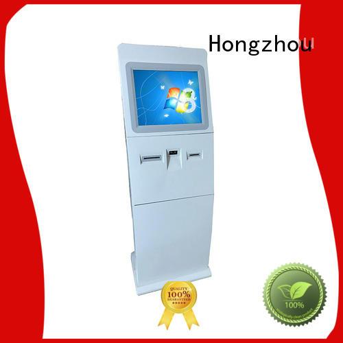 Hongzhou information kiosk machine factory for sale