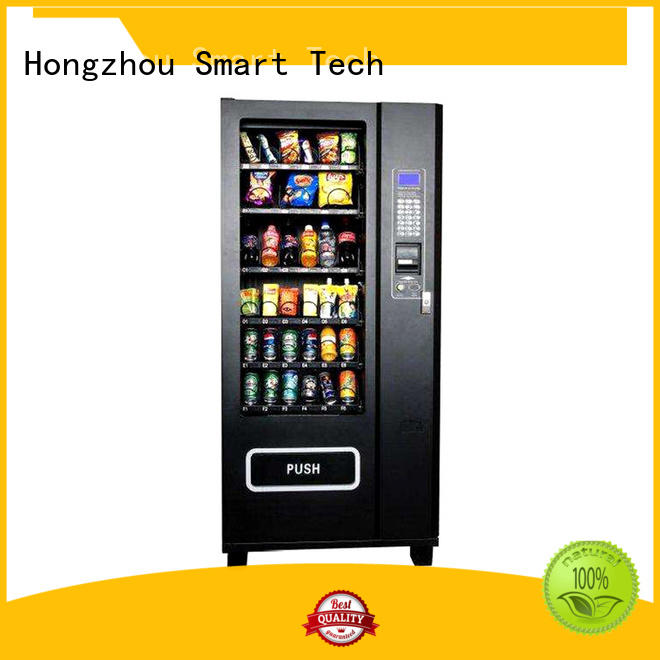 Hongzhou drinks self service vending kiosk multiple payment for airport