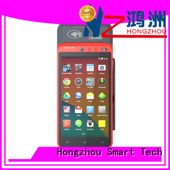 Hongzhou high speed smartpos for busniess in hospital