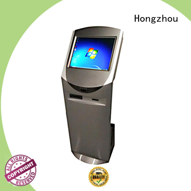 Information Kiosk with card reader function for airport