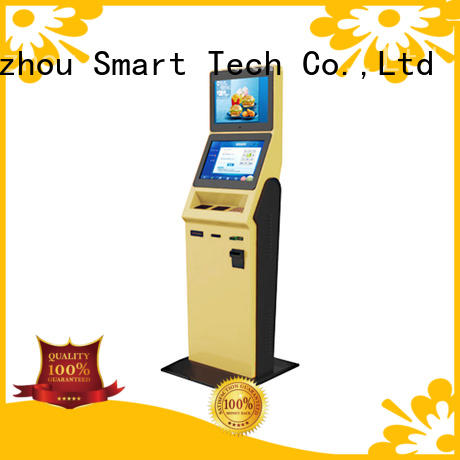 high quality hotel check in kiosk factory in hotel