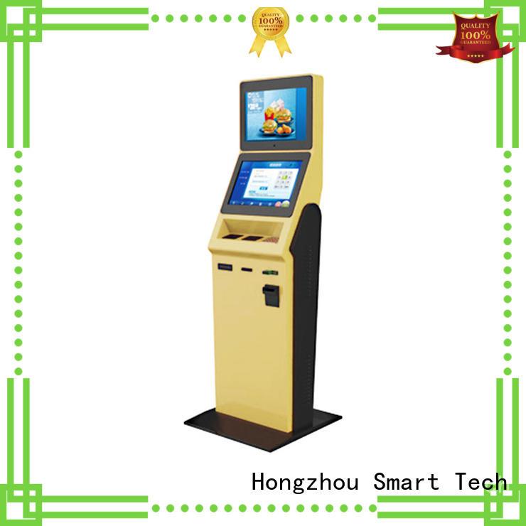 Hongzhou hotel check in kiosk with printer in hotel