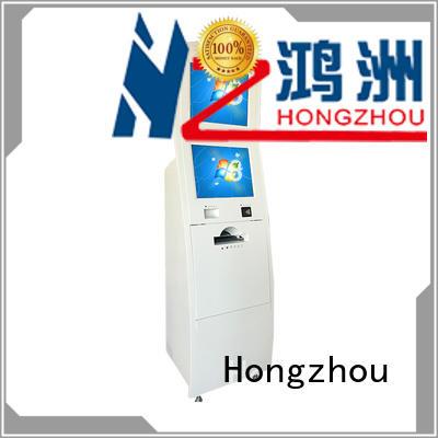 Hongzhou information kiosk with qr code scanning in bar