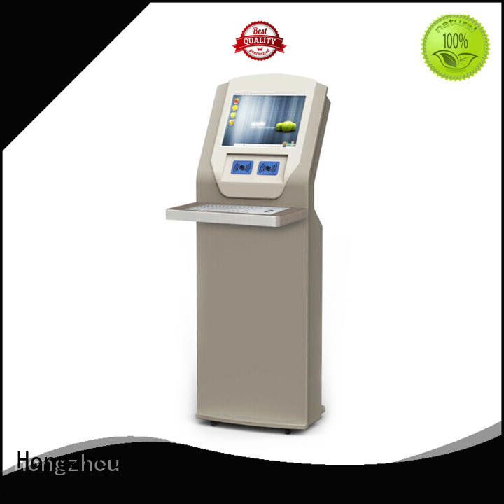 Hongzhou professional library information kiosk supplier in book store