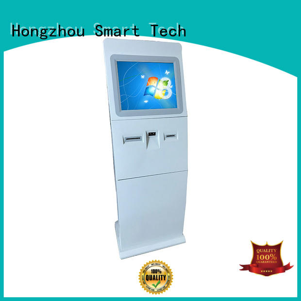 Hongzhou indoor touch screen information kiosk scanning in airport