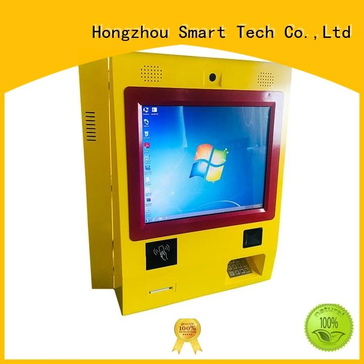Hongzhou windows system self payment kiosk manufacturer in hotel