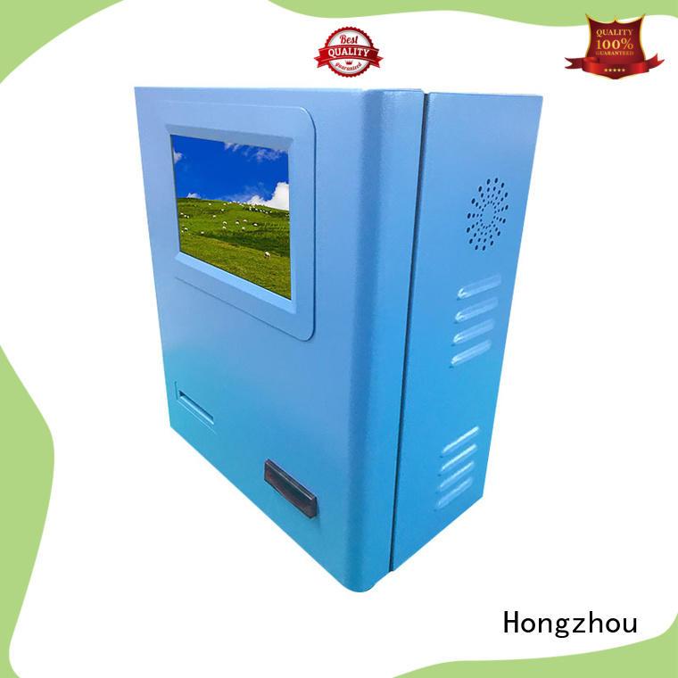 Hongzhou new payment kiosk keyboard in bank