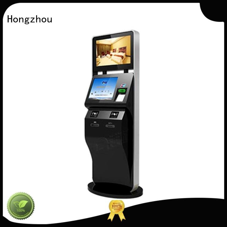Hongzhou wholesale ticket kiosk machine factory in cinema