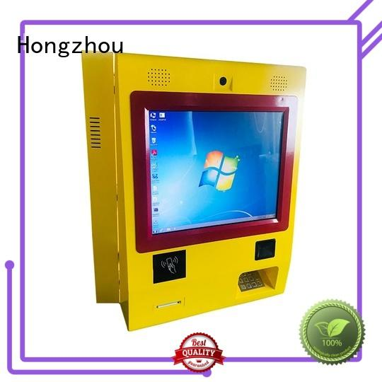 Hongzhou automated payment kiosk supplier in bank