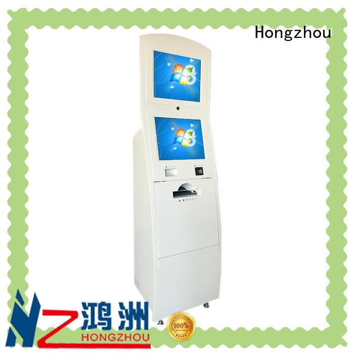 Hongzhou routing touch screen information kiosk in bar