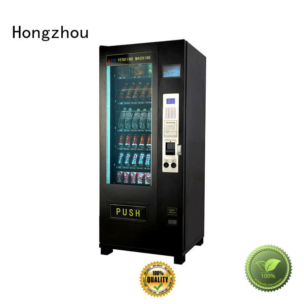Hongzhou service automated vending machine soft for supermarket