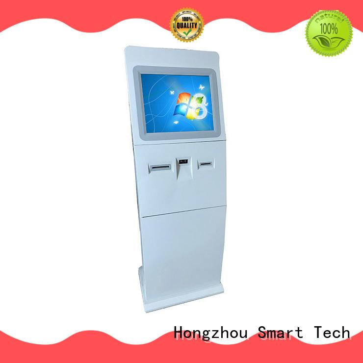 Hongzhou thermal information kiosk with printer in bar