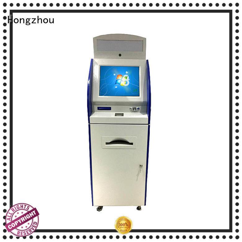 floor standing digital information kiosk appearance in bar
