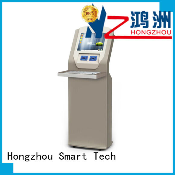 Hongzhou high quality library information kiosk factory in library