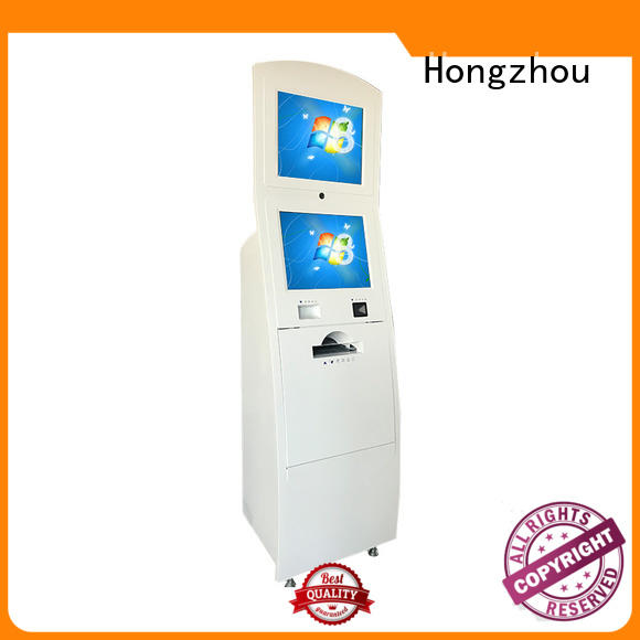 Hongzhou touch touch screen information kiosk led in airport