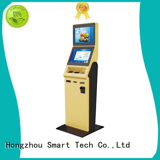 Hongzhou hotel self check in machine for busniess in villa