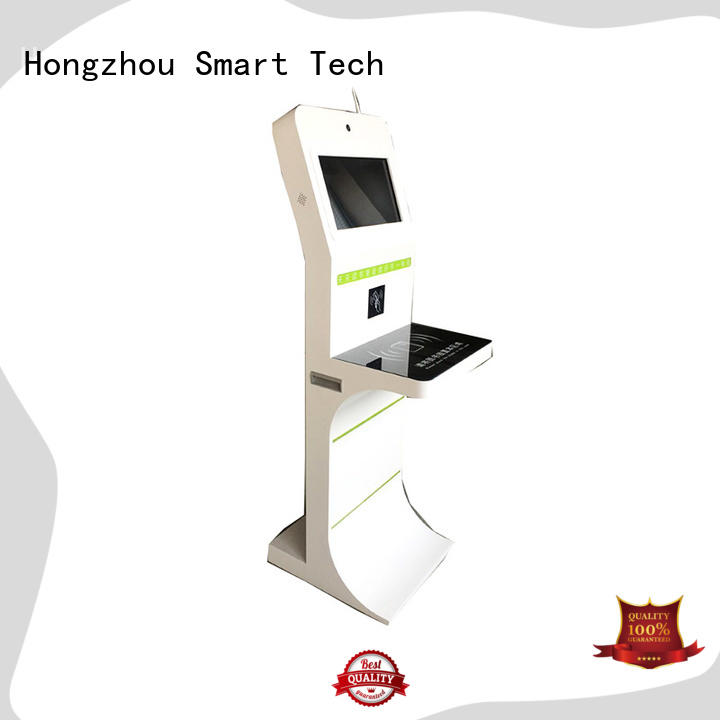 Hongzhou library information kiosk supplier in library