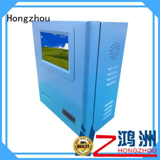 Hongzhou best payment kiosk manufacturer for sale