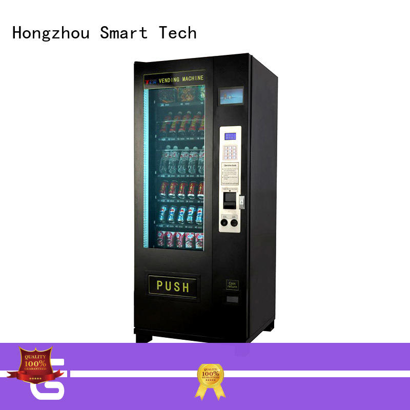 Free standing design snack vending machine for supermarket
