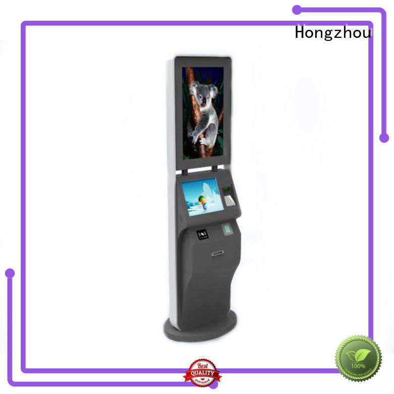 top self service ticketing kiosk with wifi on bus station