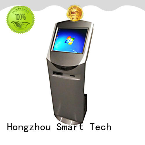 floor standing information kiosk with camera for sale