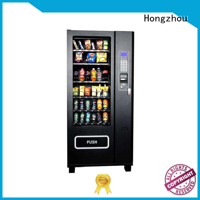 Hongzhou automatic vending machine free standing for supermarket