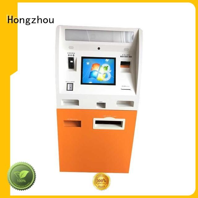 Hongzhou wholesale pay kiosk manufacturer for sale