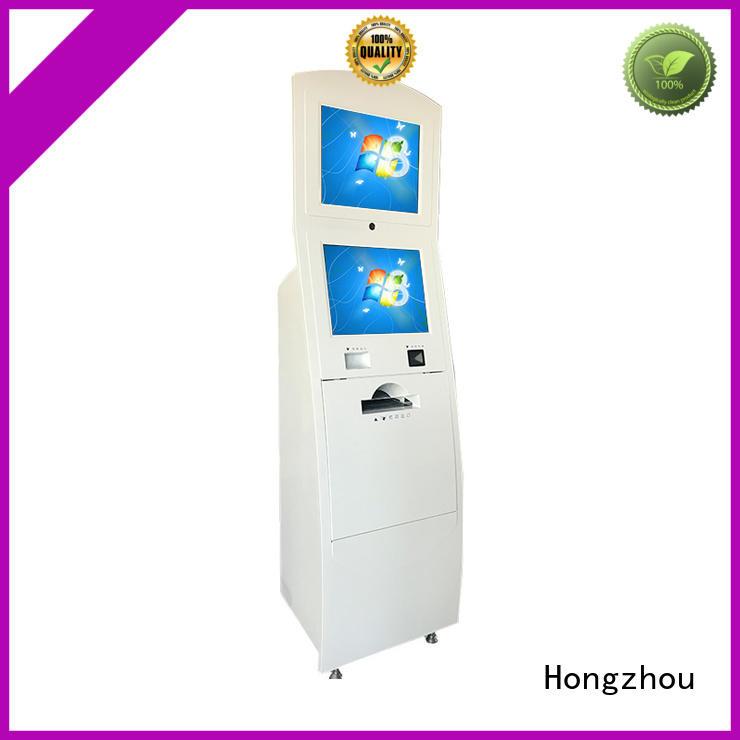 Hongzhou indoor interactive information kiosk receipt for sale