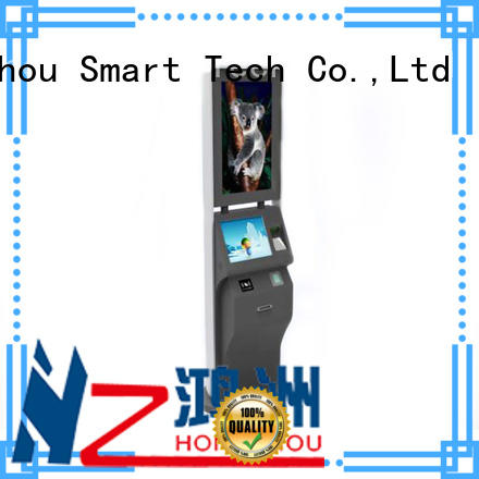 ticket kiosk machine ticketing printing on bus station Hongzhou