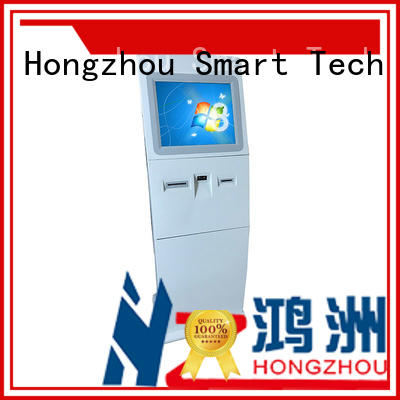 high quality information kiosk machine supplier in airport